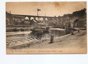 Postcard - Les Bords de la Rance, Steamboat and Rail Viaduct