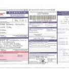 Pos MALAYSIA POST Parcel Consignment Note - Sarawak to Kuala Lumpur 2012