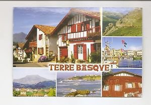 POSTCARD - Terre Basque Pays Basques FRANCE - Used