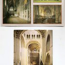 POSTCARDS - St Albans Abbey, Exterior and Interior Views  UK