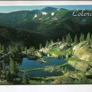 POSTCARD -  ROCKY MOUNTAIN NATIONAL PARK, Colorado USA