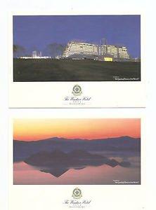 Postcards - 2 cards, Windsor Hotel, Toya, Hokkaido Japan
