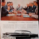 CADILLAC Advertisement Holiday Magazine 1950s