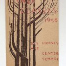 SYD FOSSUM Cover - DES MOINES ART CENTER Fall Class brochure 1956