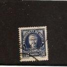 MONACO Prince Louis II Definitive 1933 1.50fr Used Scott 122 Yvert 118