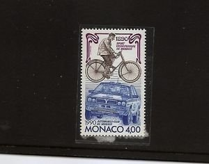 MONACO Auto Club Bicycle races 1990 MNH Scott 1713