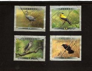 CANADA  Birds - set of 4 Self-adhv  Scott 1774-1777