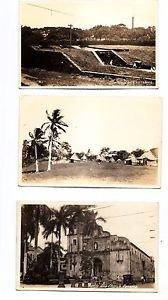 Postcards - 3 PANAMA Scenes 1920s Original Photo RPPC