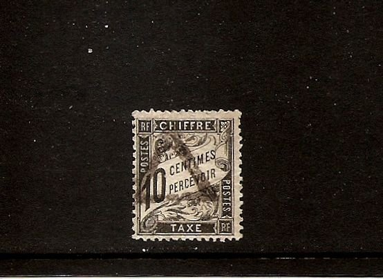 FRANCE - Postage Due Taxe Scott J16 Yvert 15 Used