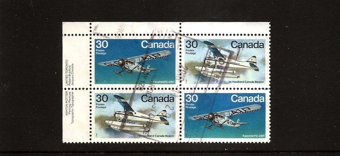 CANADA - Airplanes - Fairchild FC-2W1 / De Haviland Beaver Scott 970a