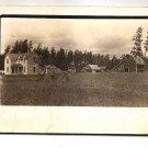 POSTCARD -  REAL PHOTO  - USA Farm scene 1910s?  RPPC