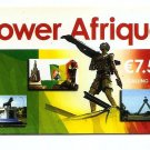 FRANCE Phonecard - POWER AFRIQUE Scratch Card 7.5 2006 - USED / NO AIRTIME