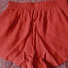 FOREVER 21 Women's MINI SKIRT SKORT SHORTS Maroon - Size XS