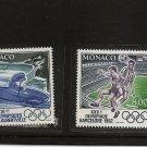 MONACO Olympics 1992 MNH  Scott 1802-03 Yvert 1811-12