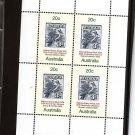 AUSTRALIA - National Stamp Week 1978 Souvenir Sheet MNH Scott 687a
