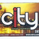 TELEPHONE CARD - USA - MTC CITY Prepaid DMV - Expired - USED - NO VALUE