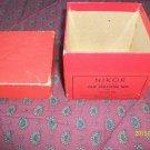 Vintage - original NIKOR Empty BOX only for Film Developing Reel