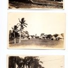 Postcards - 3 PANAMA Scenes 1920s Original Vintage Photo RPPC Central America
