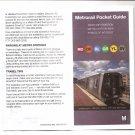 WASHINGTON DC USA METRO SUBWAY WMATA Pocket Guide Rev 2/17