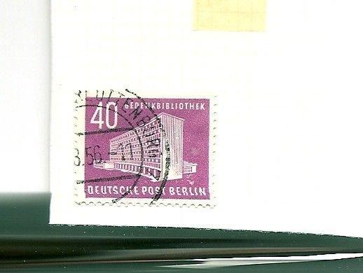 GERMANY BERLIN Memorial Library 1956 Scott 9N109 Michel 122