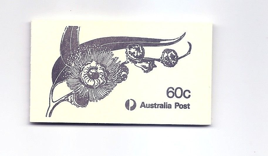 AUSTRALIA  1982 Eucalypts flowers Booklet Scott 852b SG SB52 870a