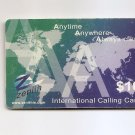 TELEPHONE CARD SINGAPORE - Zenith calling card - USED - NO AIRTIME VALUE