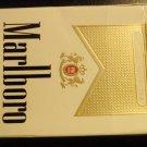 EMPTY CIGARETTE BOX EMPTY PACK USA MARLBORO Gold VA NVCTB tax label stamp