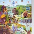 UNITED NATIONS GENEVA - Millennium Souvenir Sheet 2000 Scott 361 Michel Bloc 14