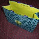 TORY BURCH Gift Shopping Bag Sack - Size 12 x 9 x 5  Blue