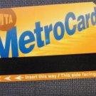NEW YORK CITY MTA SUBWAY METRO Farecard Feb 2007