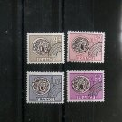 FRANCE Gallic Coins Precancels Set of 4 Yvert PO 139/41/43/45 Scott 1487-90 MNH