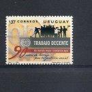 URUGUAY  ILO Decent Work conditions 2009 Scott 2272 Fine used