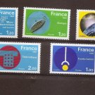FRANCE Technology 1981 Set of 5 Yvert 2126-30 Scott 1723-27 MNH