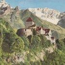 POSTCARD - LIECHTENSTEIN MOUNTAINS - Postcard to Iowa USA Postal History