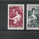 FRANCE Red Cross 1968 Set of 2 Yvert 1580-81 Scott B421-22 MNH