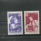 FRANCE Red Cross 1971 Set of 2 Yvert 1700-01 Scott B452-53 MNH Painting Art