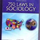 750 Laws in Sociology by Mark Bird (2016, Paperback, Revised)  NEW