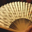 JAPANESE AVIATION AIRCRAFT Theme HAND FAN - KAWASAKI