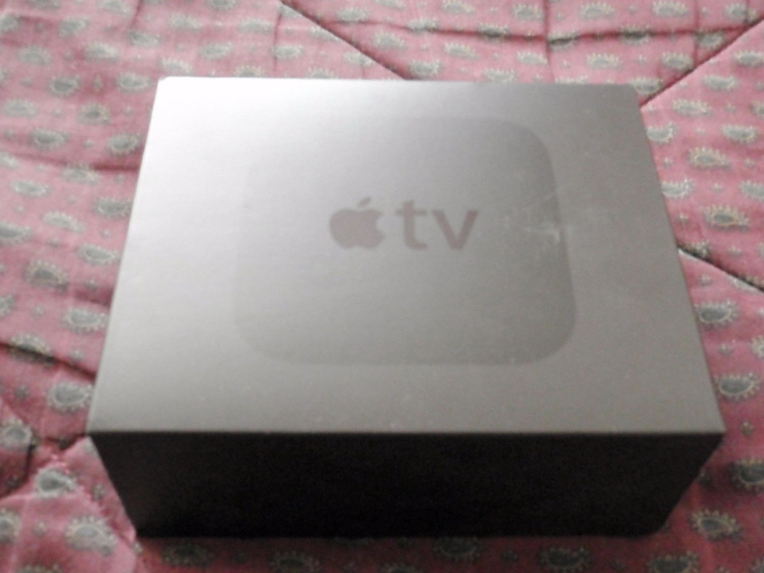 EMPTY BOX for Apple TV (4th Generation) 64GB HD -- EMPTY BOX - Model A1625 - BOX ONLY