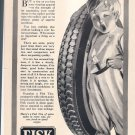 FISK TIRES Magazine Advertisement - 1920s - from Literary Digest