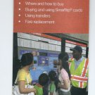USA - WASHINGTON DC METRO SUBWAY BUS - Brochure on Fares and Passes 2016
