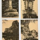 POSTCARD - FRANCE - AVALLON 4 cards - 1910s??