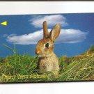 SINGAPORE Telephone card $10 SingTel International - Bunny Rabbit USED NO VALUE