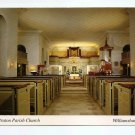 POSTCARD - Bruton Parish Church, Williamsburg Virginia 1990s