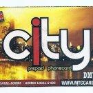 TELEPHONE CARD - USA - $2 MTC City Prepaid DMV USED NO VALUE