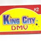 TELEPHONE CARD - USA - KING CITY DMV $2  prepaid USED NO VALUE