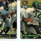 USA PHONECARD - GTE Football Watters + Metcalf - USED / NO AIRTIME
