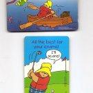 SINGAPORE Telephone card $3 x 2 SingTel PADDINGTON BEAR -  USED NO VALUE