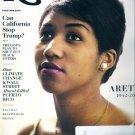 ROLLING STONE Magazine - October 2018 Aretha Franklin, Election, Puerto Rico