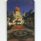 SINGAPORE Telephone card $5 SingTel Sultan Mosque USED NO VALUE
